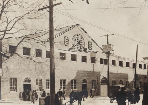 4. Aréna Mont-Royal (ca 1920)