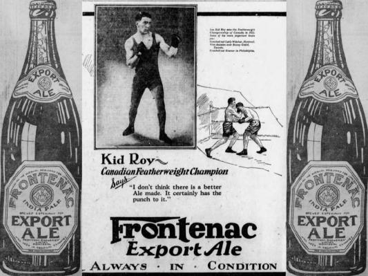 9. Kid Roy Montreal Gazette 1926